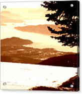 Spring Skiing Acrylic Print