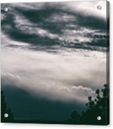 Spring Storm Cloudscape Acrylic Print