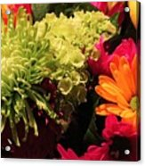 Spring/summer Bouquet - Flowers Acrylic Print