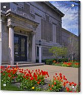 Spring Time At The Muskegon Museum Of Art Acrylic Print