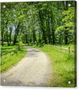 Spring Time In Rural Ohio Acrylic Print