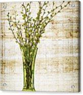 Spring Vase Acrylic Print