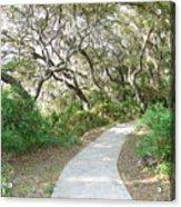 Spring Walkway Acrylic Print