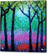Spring Woodland Acrylic Print