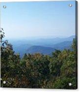 Springer Mountain Georgia Acrylic Print
