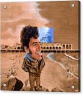 Springsteen On The Beach Acrylic Print