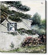 Springtime At Round Pond Maine Acrylic Print