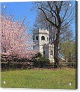Springtime At The Botanical Garden Acrylic Print