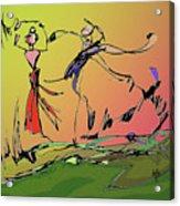 Springtime Dance Nine Acrylic Print