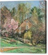 Springtime On Longhill Acrylic Print