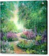 Springtime Walk Acrylic Print