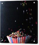 Sprinkles On Cup Cakes Acrylic Print
