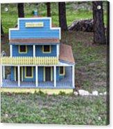 Spruce Lodge Acrylic Print