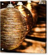 Spun Gold Acrylic Print