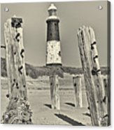 Spurn Lighthouse Acrylic Print