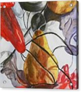 Spying On Fruit Acrylic Print