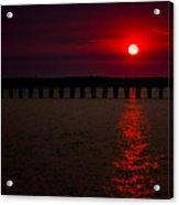 Squalicum Sunset Acrylic Print