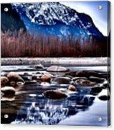 Squamish River Acrylic Print