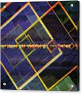 Square Fractals Acrylic Print