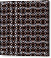 Square Rose Woven Pattern Acrylic Print