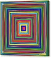 Square Shadings Acrylic Print