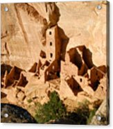 Square Tower Ruin Acrylic Print
