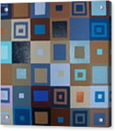 Squares Have It Acrylic Print
