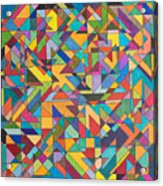 Squark And Lepton Fields Acrylic Print