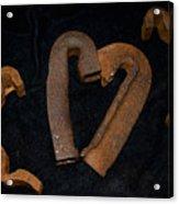 Squiggle Heart Acrylic Print