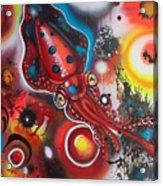 Squink Acrylic Print