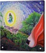 Sri Barsana Vali Acrylic Print