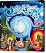 Sri Hridaya Darpana-the Mirror Of The Heart Acrylic Print