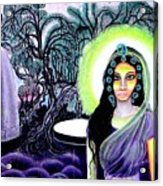Sri Maan Nagari Acrylic Print