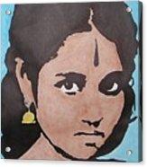 Sri Mata Acrylic Print