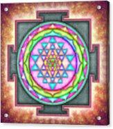 Sri Yantra - Artwork 7.3 Acrylic Print