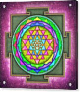 Sri Yantra - Artwork 7.5 Acrylic Print