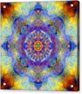 Sri Yantra Light Acrylic Print