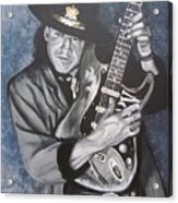Srv - Stevie Ray Vaughan  Acrylic Print