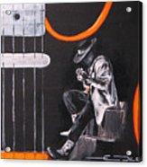 Srv - Stevie Ray Vaughn Acrylic Print
