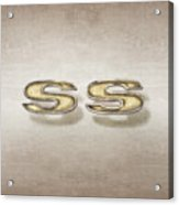 Super Sport Emblem Acrylic Print