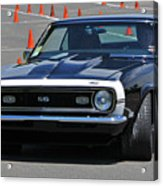 Ss On Autocross Course Acrylic Print
