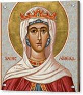 St. Abigail - Jcabi Acrylic Print