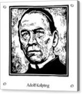 St. Adolf Kolping - Jladk Acrylic Print