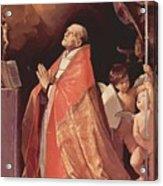 St Andrew Corsini In Prayer 1635 Acrylic Print
