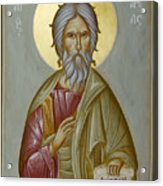 St Andrew The Apostle And First-called Acrylic Print by Julia Bridget Hayes