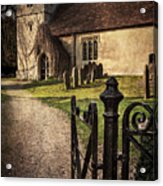 St Andrews At Chaddleworth Berkshire Acrylic Print
