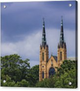St Andrews Catholic Church Roanoke Virginia Acrylic Print