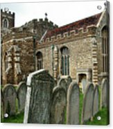 Church Of All Saints, Houghton Conquest, Uk Acrylic Print