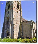 St Andrew's Church At Cubley In Derbyshire Acrylic Print