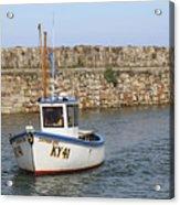 St Andrews Harbour Acrylic Print